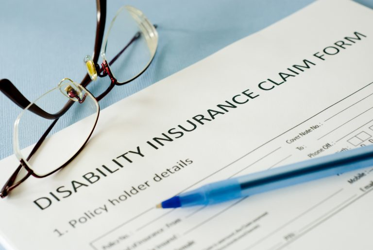 disability insurance claim form