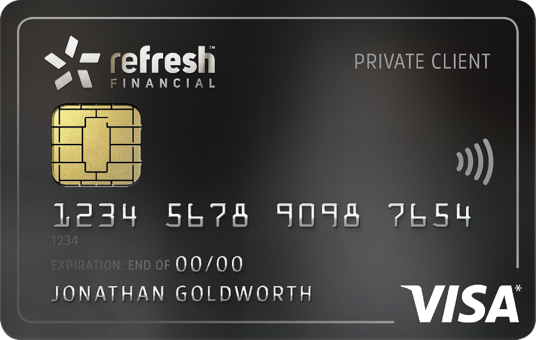 Refresh Financial Secured Visa Card