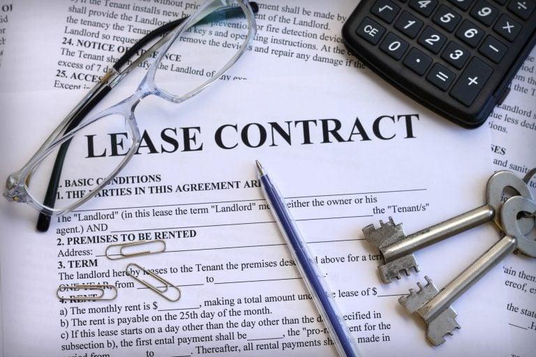 breaking a lease