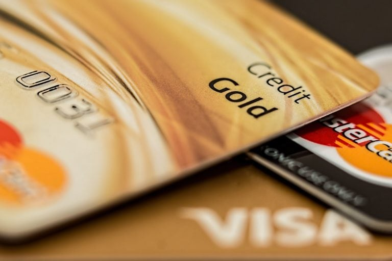 charge on credit card