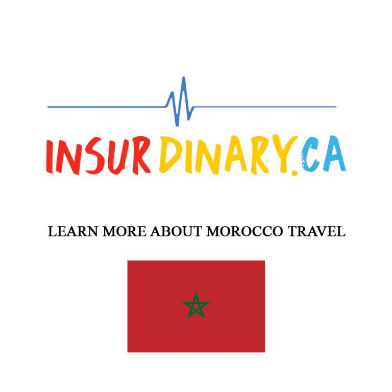 Morocco Travel Insurance - Get Quotes Now!   Insurdinary
