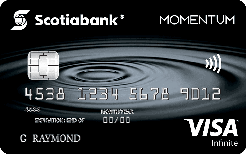 Scotiabank Scotia Momentum VISA Infinite Cash Back Card