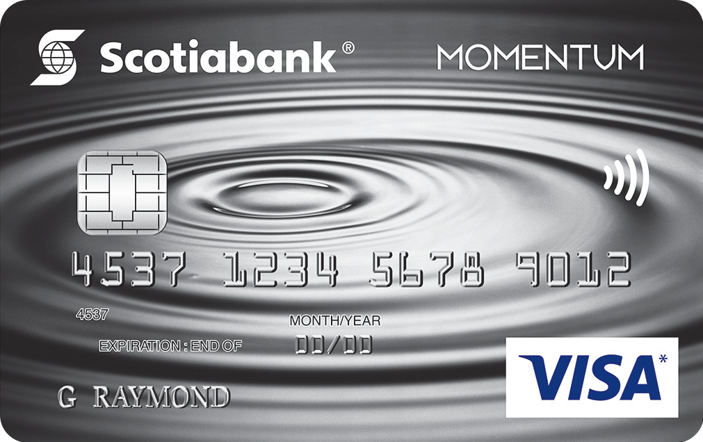 Scotiabank Momentum No-Fee Visa Card