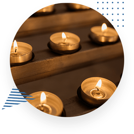 Candles Burning Bright