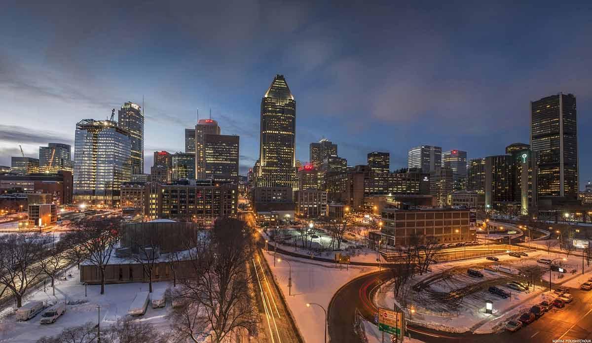 Montreal city view