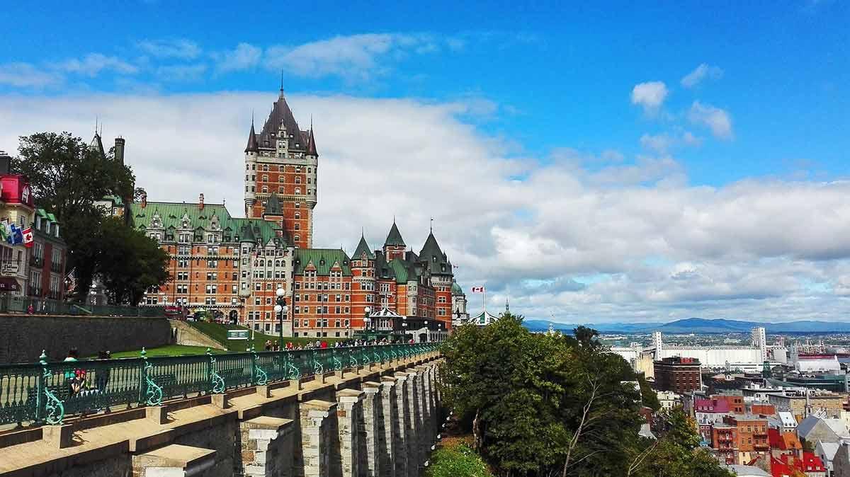 Quebec city view