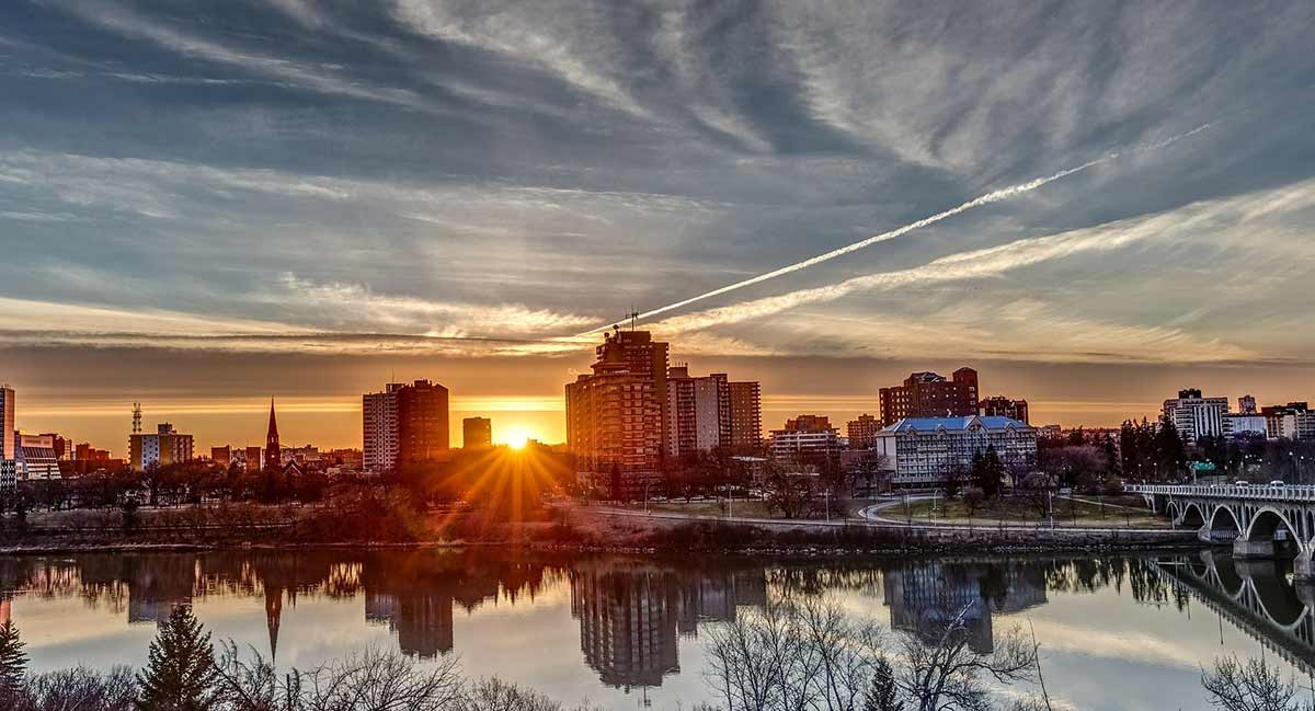 Saskatoon view