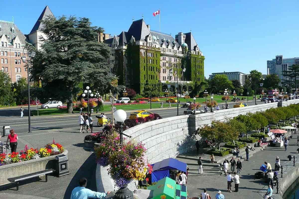 Victoria British Columbia view