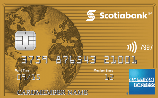 Gold American Express Card