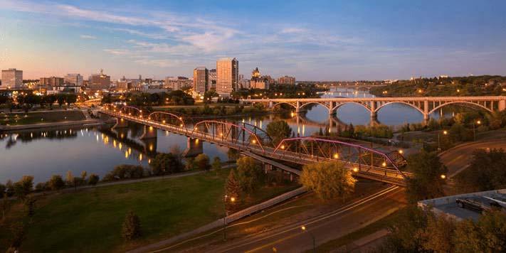 Saskatoon City view