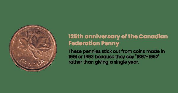 canadian federation penny image