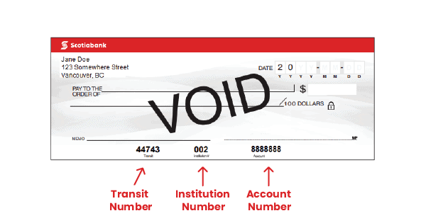 Scotiabankn Transit and Branch Numbers image