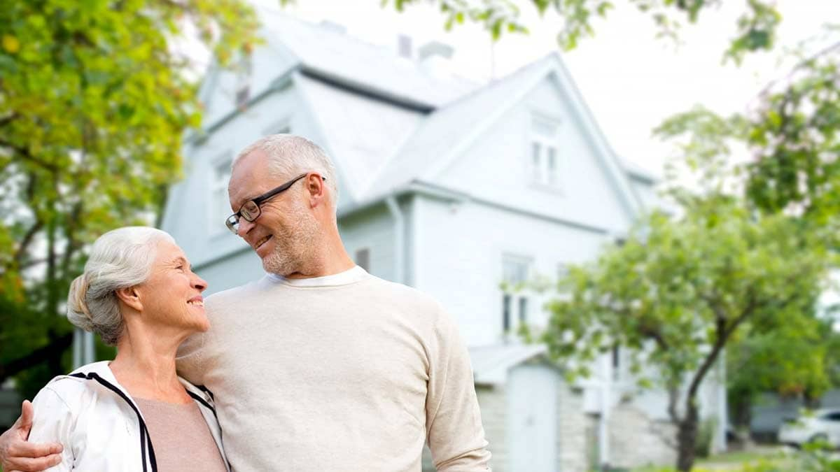 Couple with a Retirement Property Image