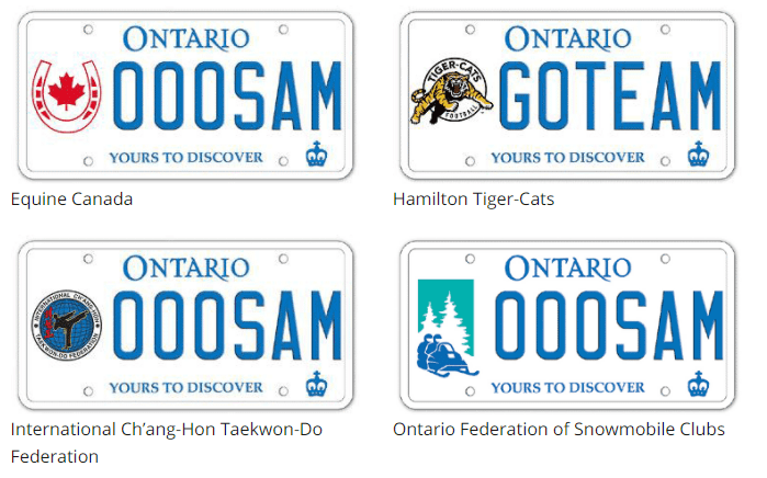 Custom License Images