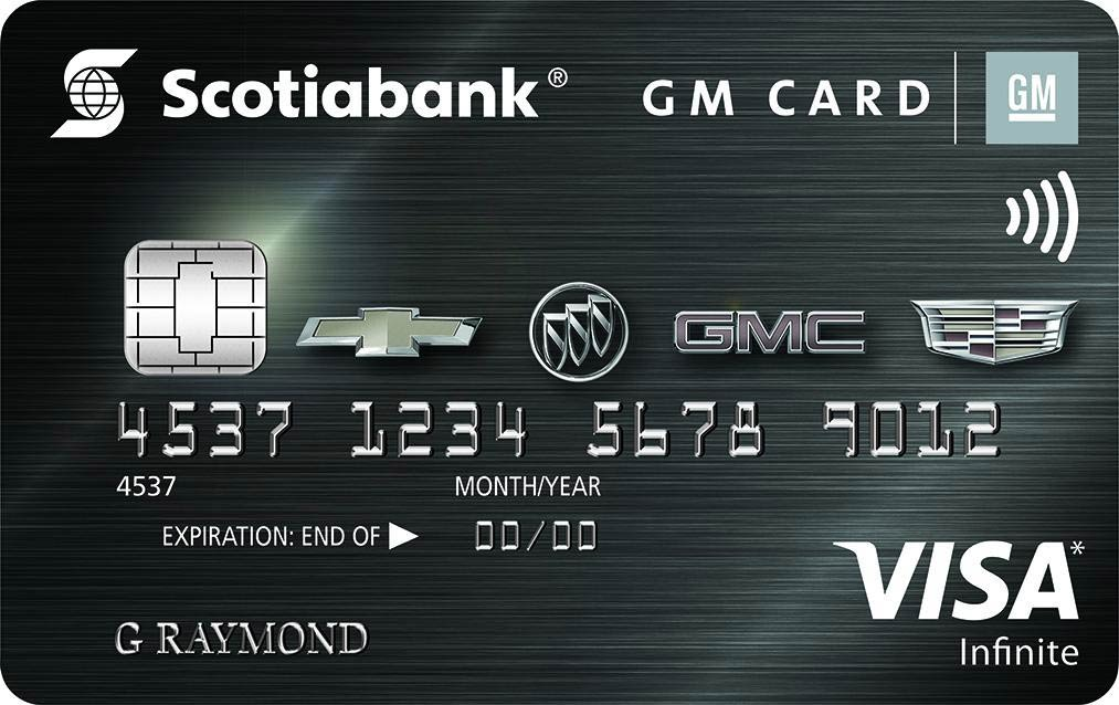 GM Scotiabank Infinite Card