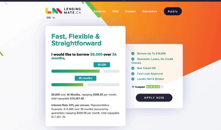 Lending Mate Web Image