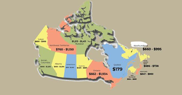 Map Canada Image