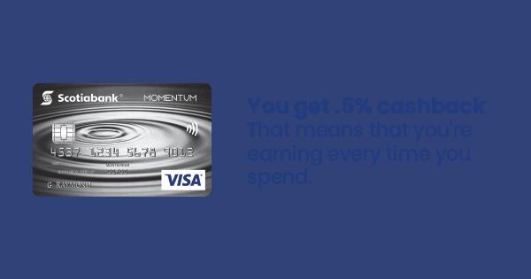 Momentum Card Info Image