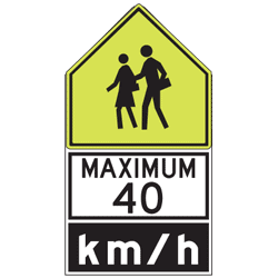 Reduced Speed