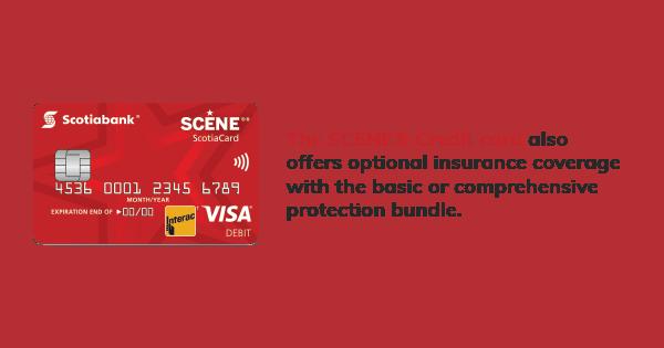 Scene Visa Card Info Image