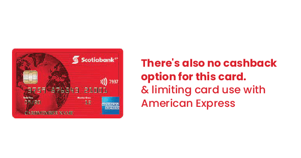 scotia american express cons