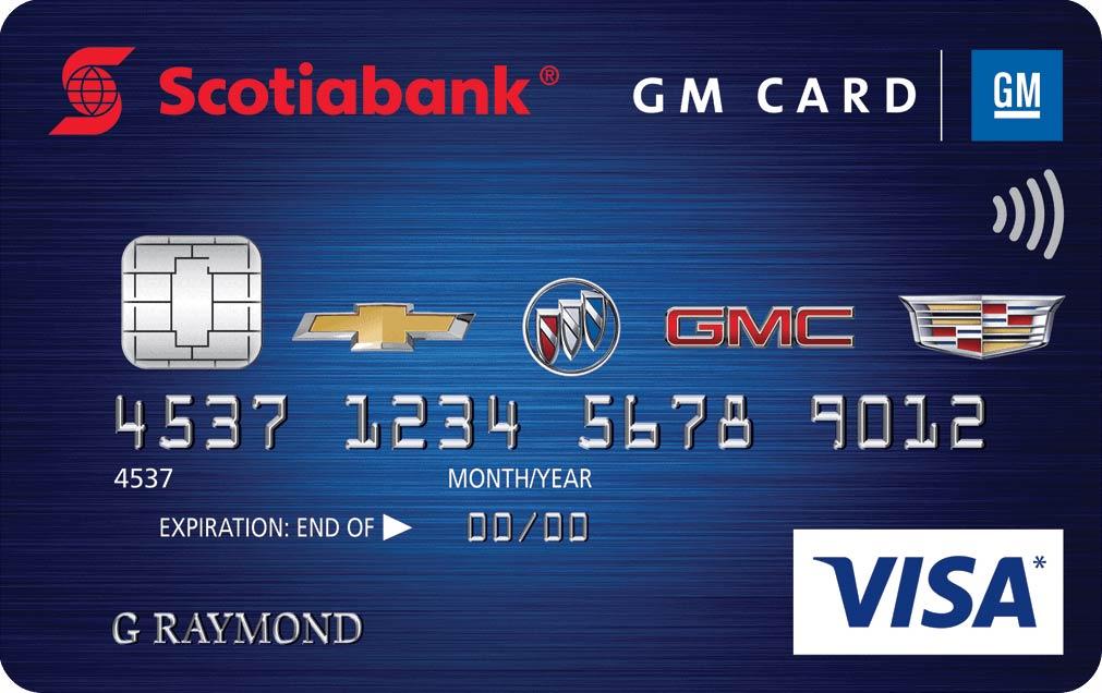 Scotiabank GM Card