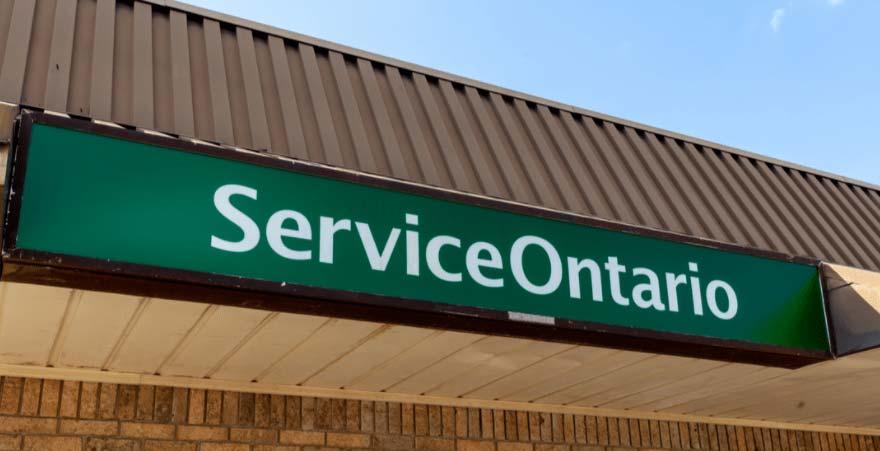 Service Ontario Office Image
