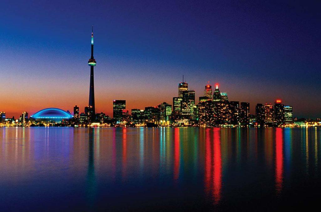 Toronto View at night Image