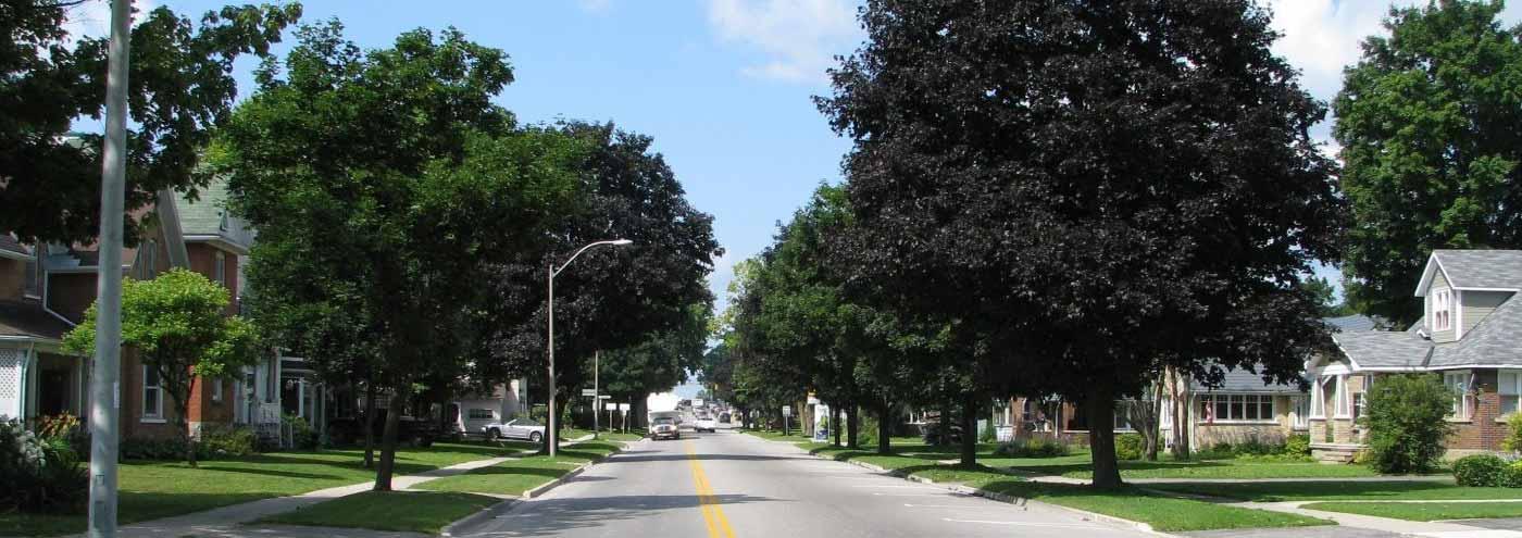 Village in Shelbourne Ontario Image