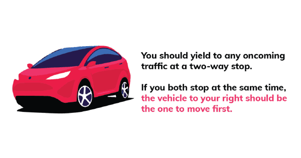 Yield traffic guide Image