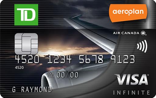 Aeroplan Visa Card Image