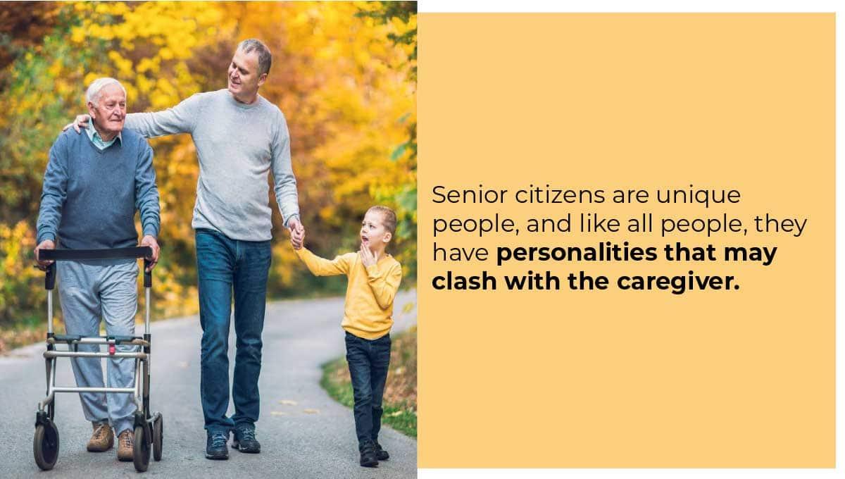 Elderly Perosnality image