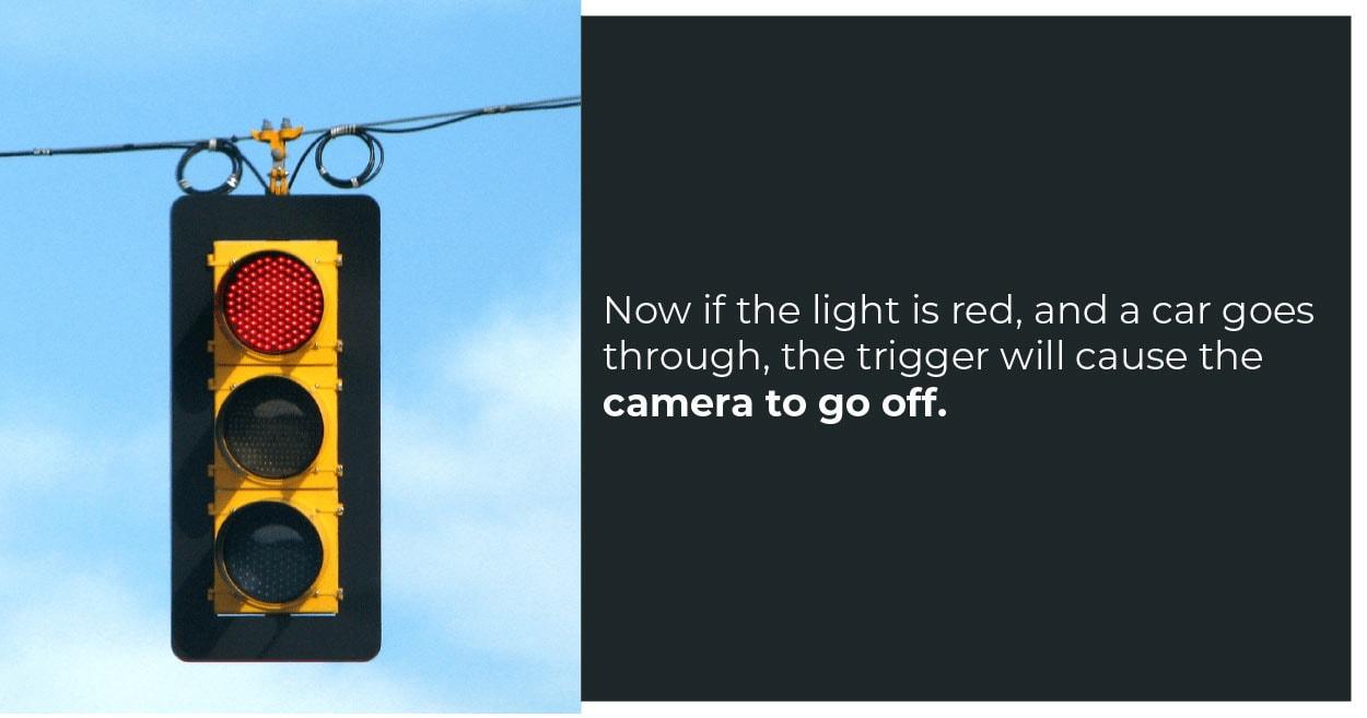 Red Light Flash Image