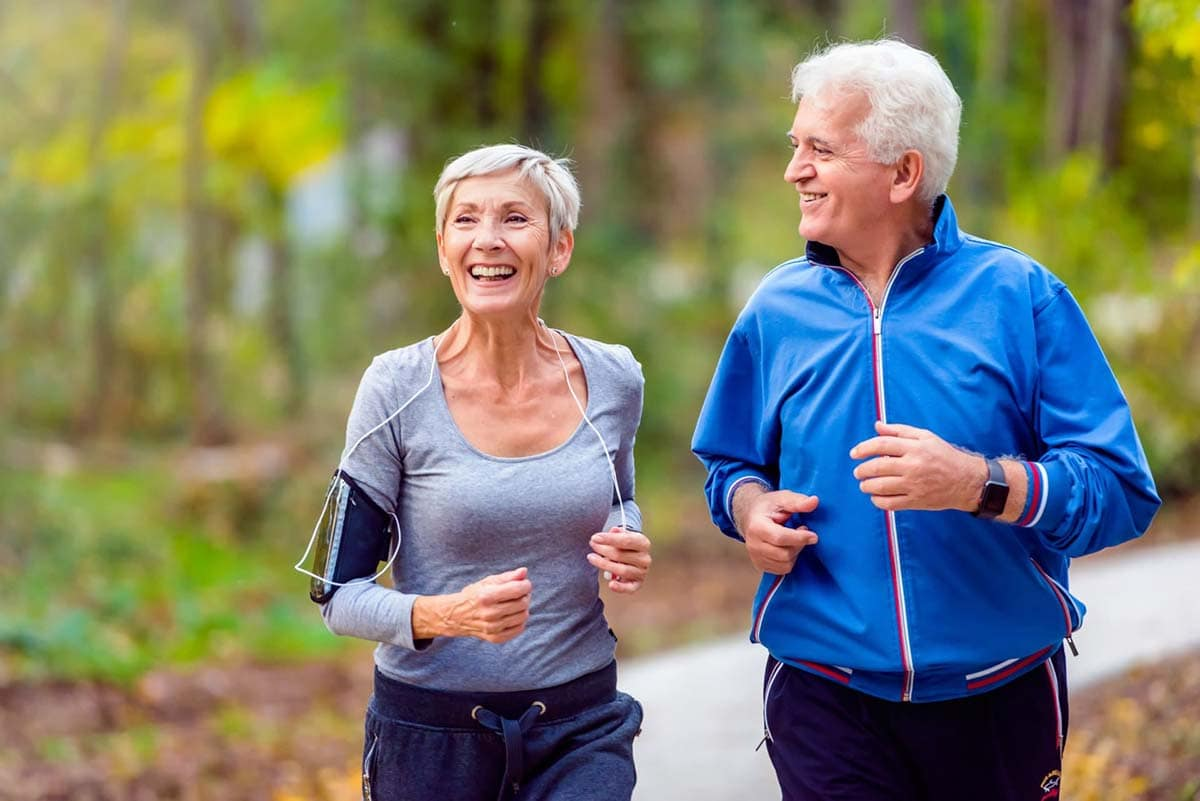 Retired Active Couple Image