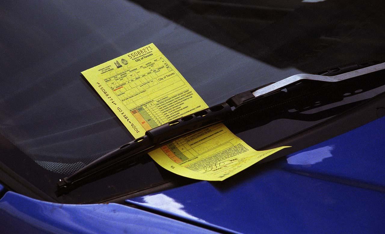 parking ticket in toronto