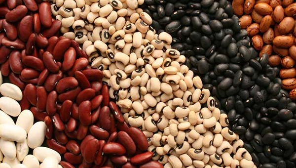 Beans - food to prevent acne