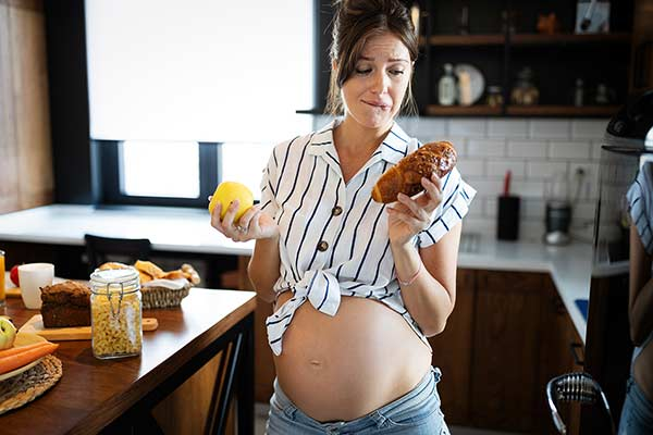 food craving pregnant mother