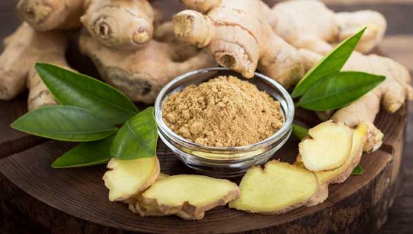 ginger food to prevent blood clots