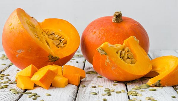 Pumpkin - food to prevent acne