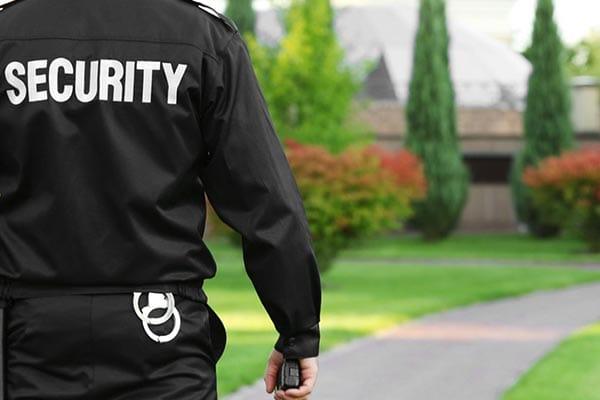 Security Guard the most boring job