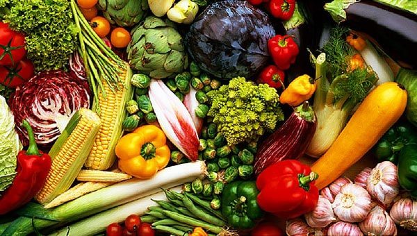 Vegetables - food to prevent acne