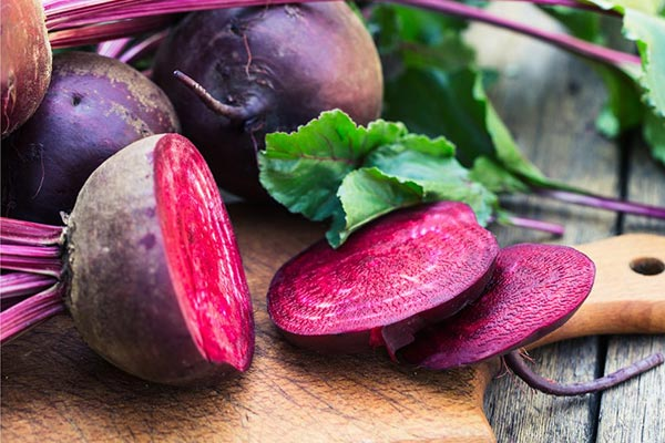 Beets - foods that prevent hair loss