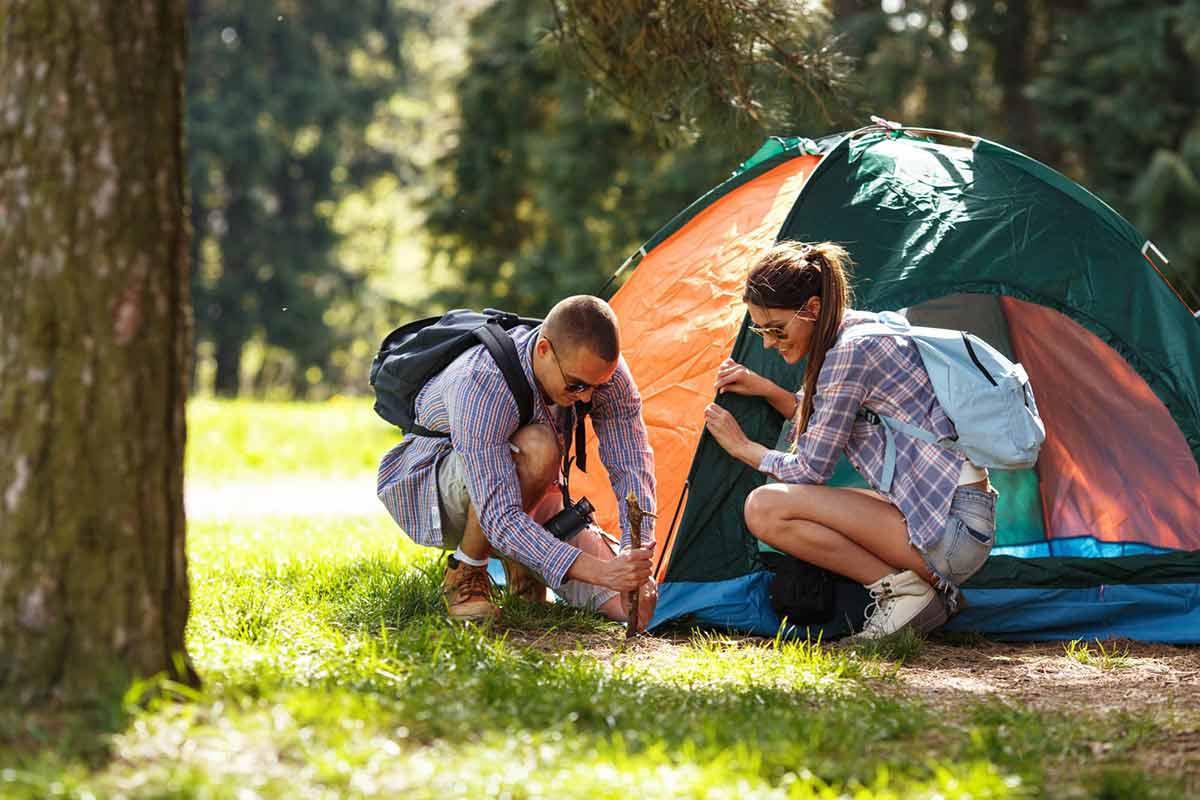 Camping site nearToronto