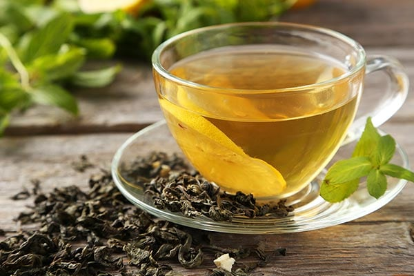 Green Tea - foods that prevent tooth decay