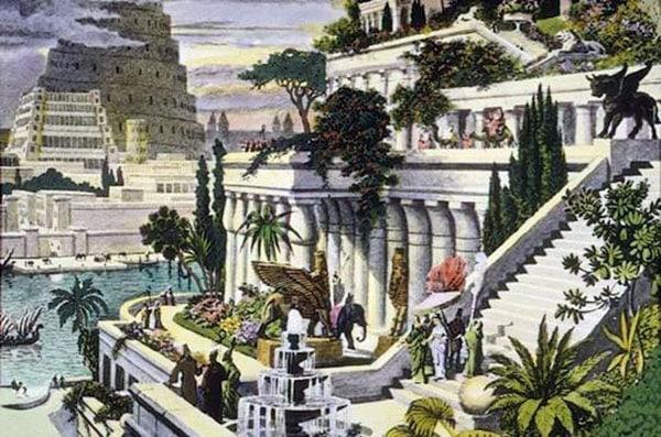 Hanging Garden of Babylon era