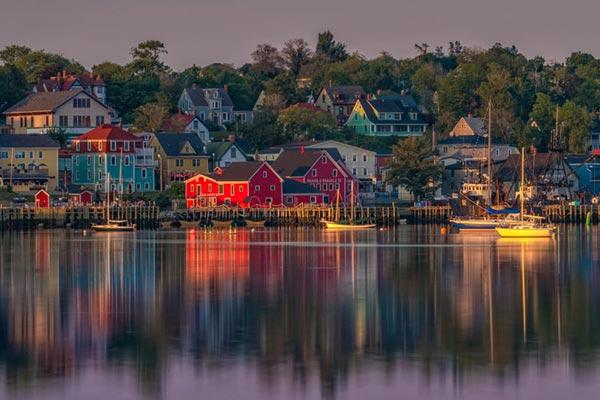 Lunenburg Nova Scotia landscape