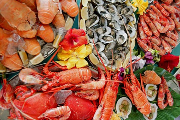 Seafoods - foods that prevent tooth decay