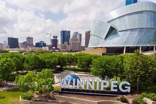 Winnipeg Manitoba tourist landmark