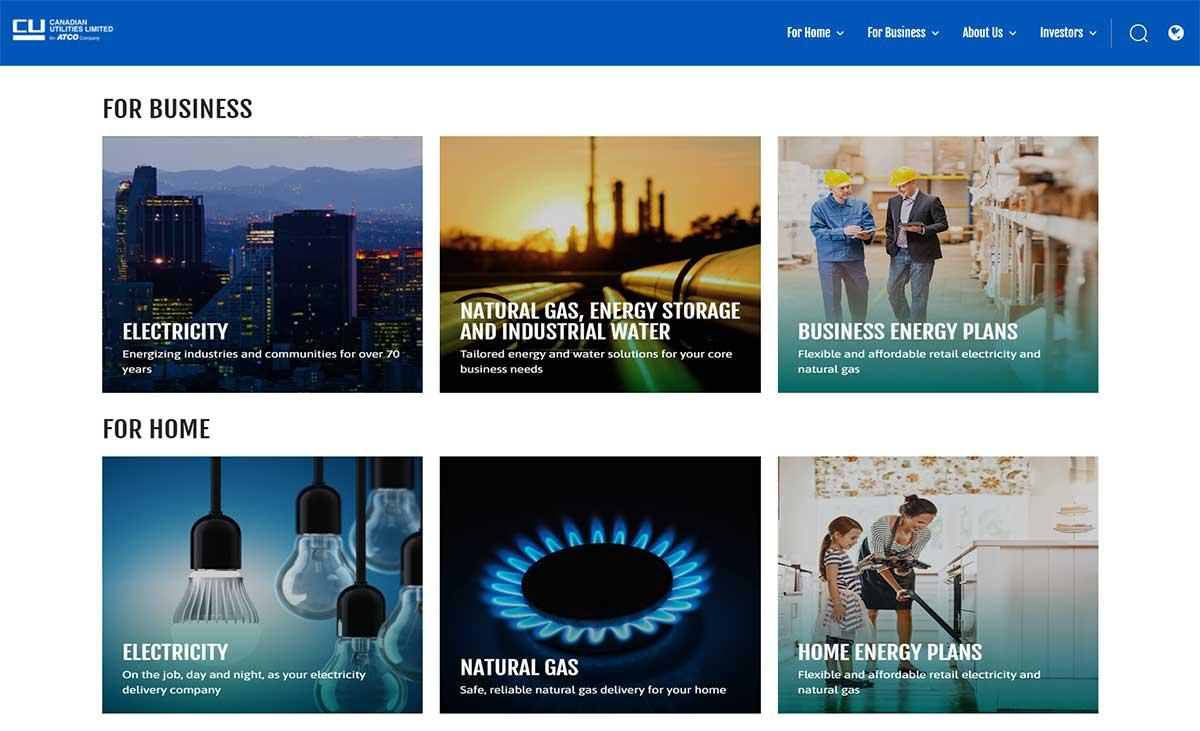 canadian utilities website
