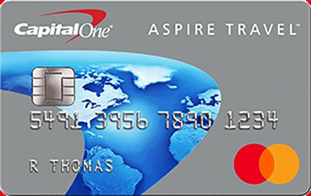 Capital One Aspire Travel Platinum Mastercard